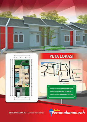 Perumahan Leticia Regency Rumah Subsidi Tambun Selatan Bekasi Terbaru 2018