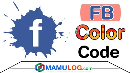 fb color code