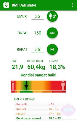 Cara Menghitung Berat Badan Ideal Dengan Kalkulator BMI Sesuai Umur dan Tinggi