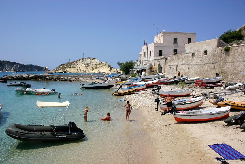 Plaża na wyspie San Nicolo