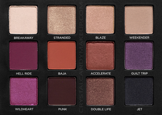 Urban Decay UD Born To Run Eyeshadow Palette