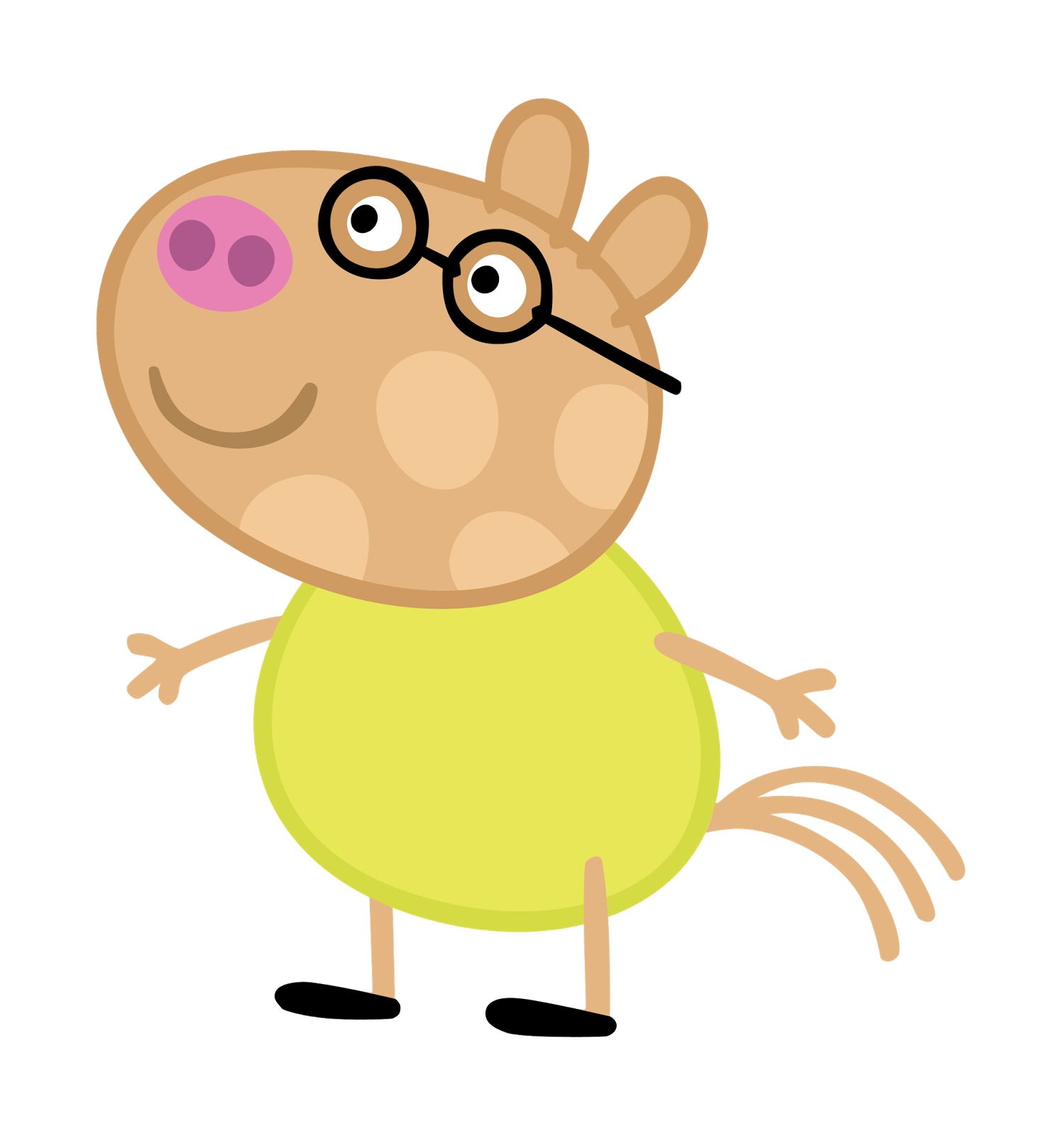 Cartoon Characters Peppa Pig PNG