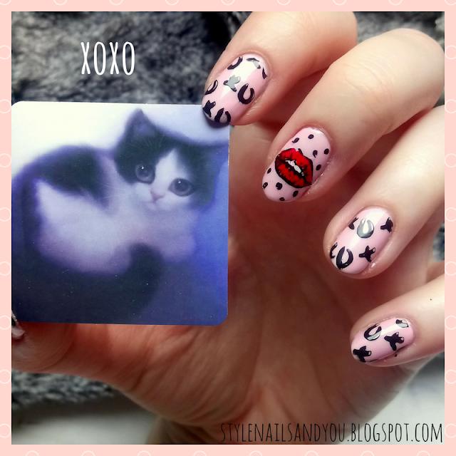 XOXO | Born Pretty Stamping Plate Valentine's Day BP-L005 | Born Pretty Store Review