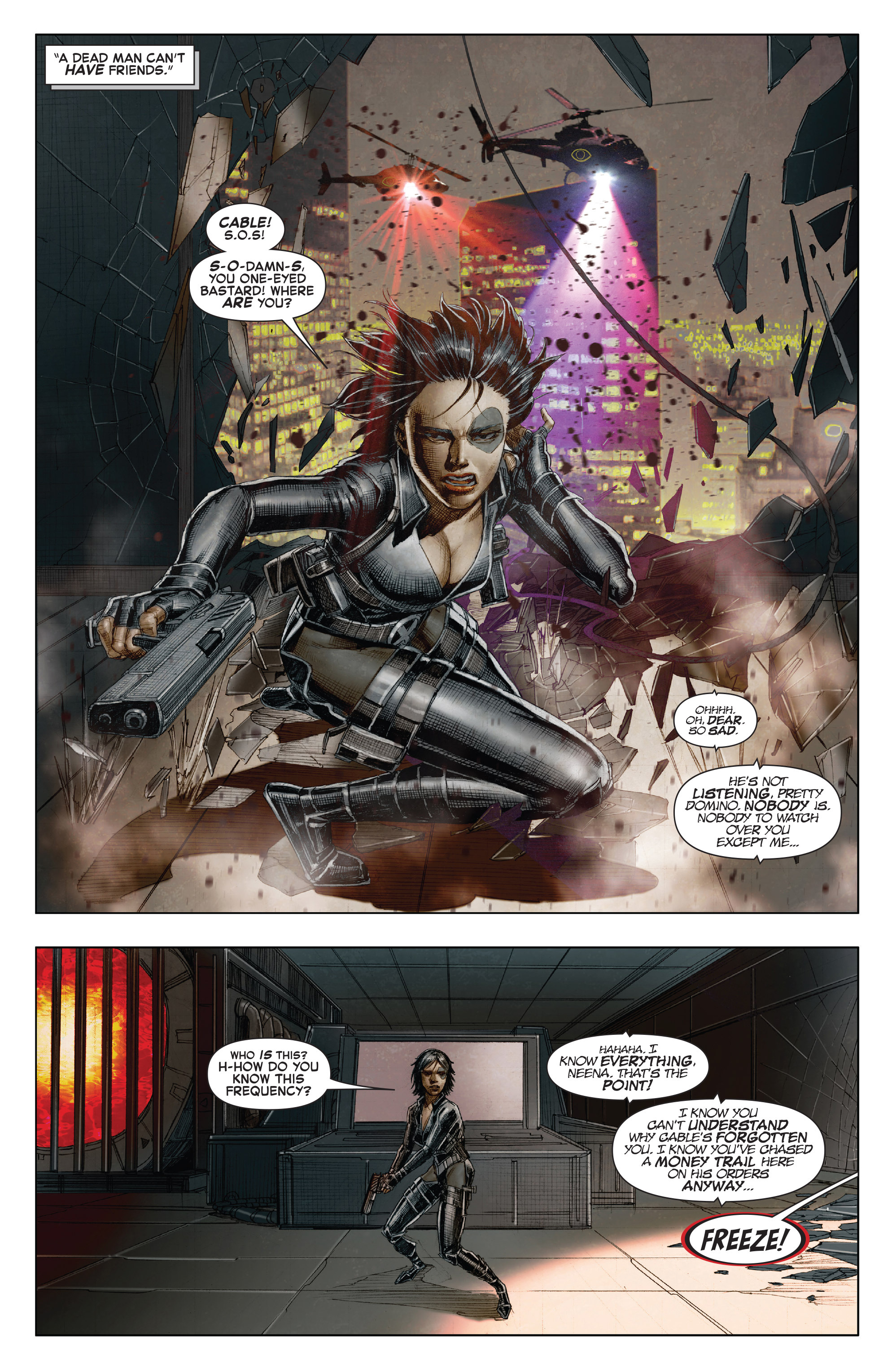 Read online X-Force (2014) comic -  Issue #7 - 7