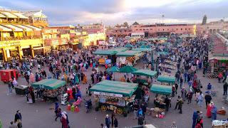 Maroc Marrakech Medina Place Jemaa el-Fna