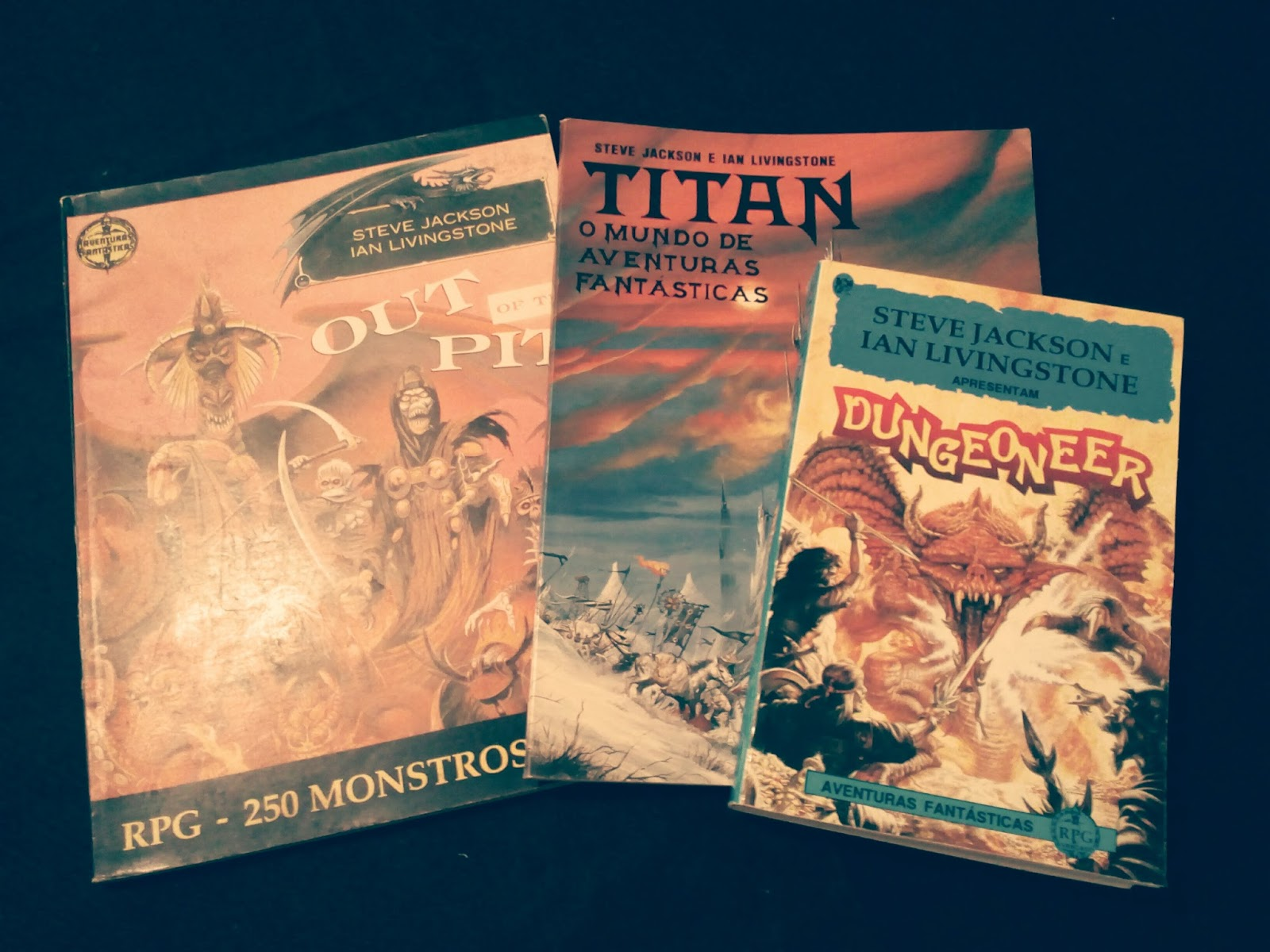 Tomos de Sabedoria: Nostalgia: Titan o mundo de aventuras fantásticas