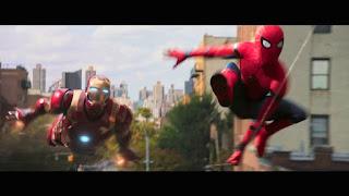 spider-man homecoming: el mejor vistazo hasta ahora a la armadura de iron man
