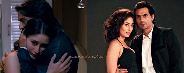 pasangan selebriti bollywood favorit Arjun Rampal & Kareena Kapoorl