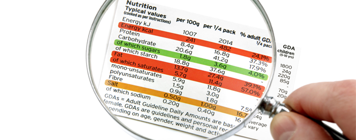etiquetas alimentos: demasiado pequeñas
