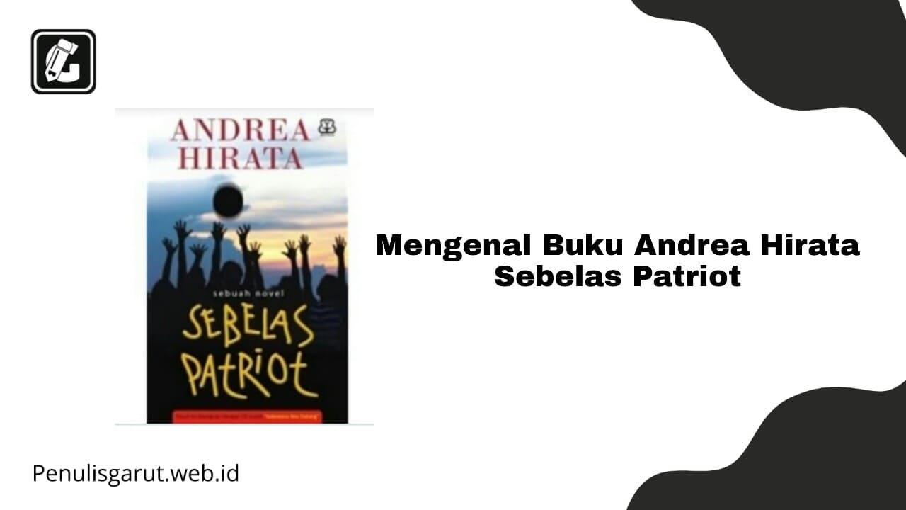 Buku Andrea Hirata Sebelas Patriot