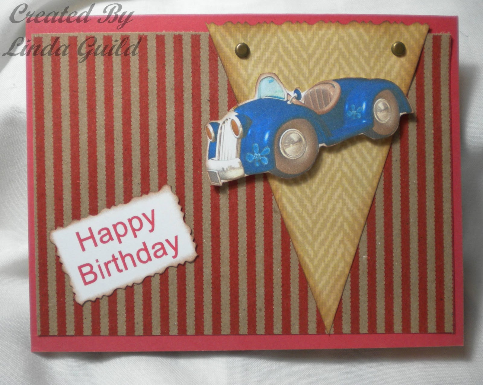 Toon Cars Birthday Cards These Cute Cartoon Were Found Online I Printed Them In Hallmark Software And Cut Out By Hand