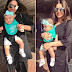"Gorgeous Sanam Jung with her Cute Daughter ""Alaya"" at Lahore Airport"