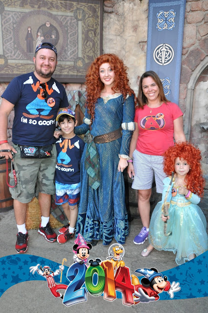 Onde encontrar as Princesas na Disney - Merida