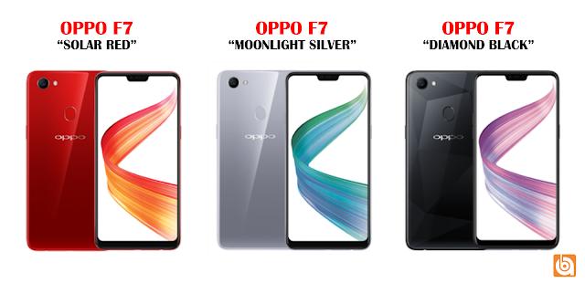 oppo f7, warna oppo f7 oppo