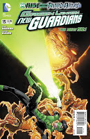 Green Lantern: New Guardians #15 Cover