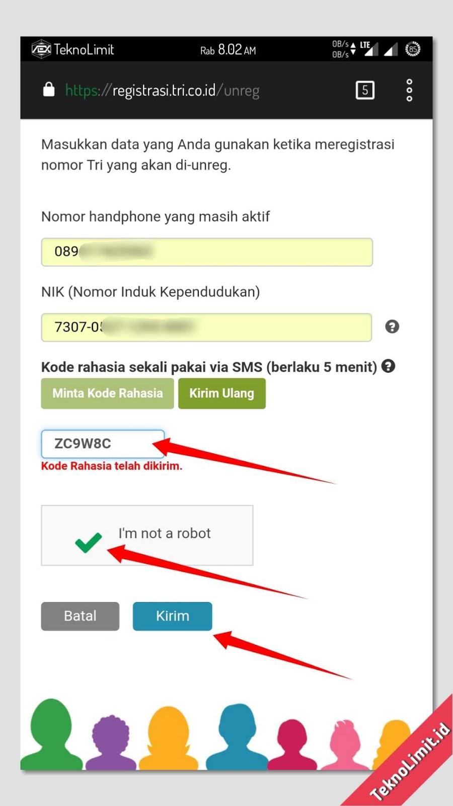 Cara Daftar Dan Registrasi Ulang Kartu Prabayar Untuk Semua Operator
