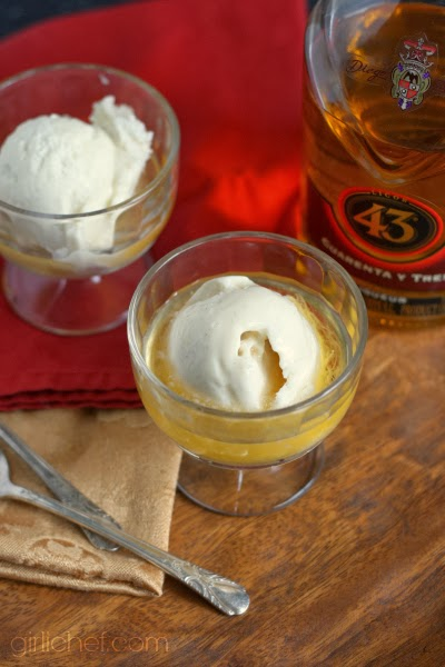 "Licor 43 over Vanilla Bean Ice Cream in ""13 Would-Be Blog Posts of 2013"" at www.girlichef.com"