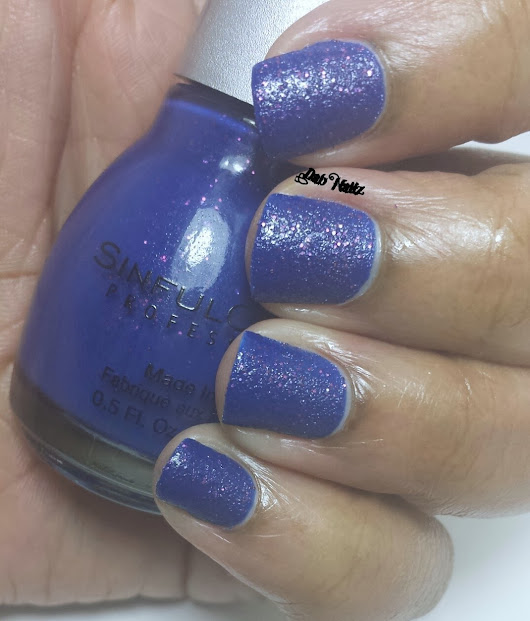 Sinful Colors Crystal Crush Collection-Partial Swatch and Review