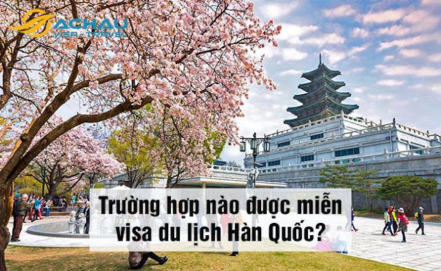 Công dân Việt Nam có được miễn visa du lịch Hàn Quốc không?