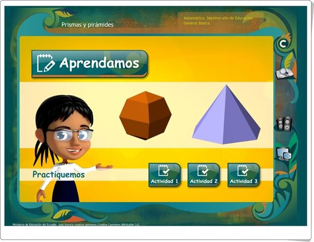"""""""Prismas y pirámides"""" (Juego de Geometría)"""