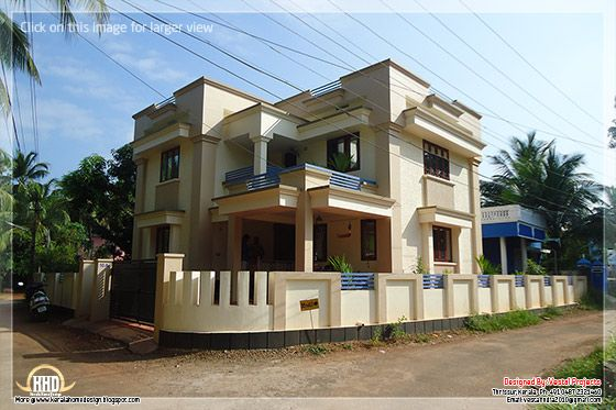 November 2012 kerala home design and floor plans for Minimalist house flat roof