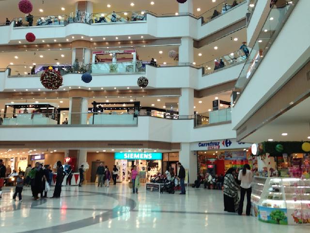 Olivium Outlet Center em Istambul na Turquia