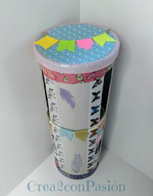 Organizador-cintas-washi-tape-reciclando-un-envase-de-snaks-2-Crea2-con-Pasión