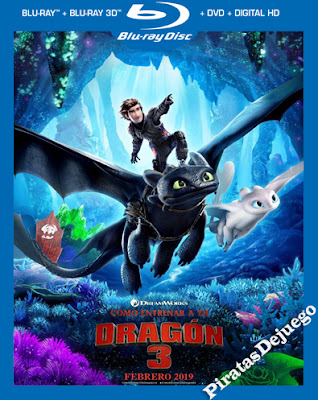 Como Entrenar A Tu Dragon 3 (2019) HD 1080P Latino