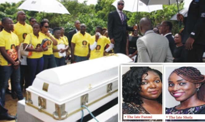 deceased unilag students buried