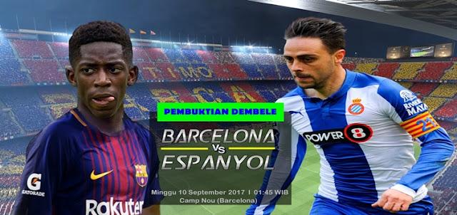Prediksi Taruhan Bola 365 - Barcelona vs Espanyol 10 September 2017