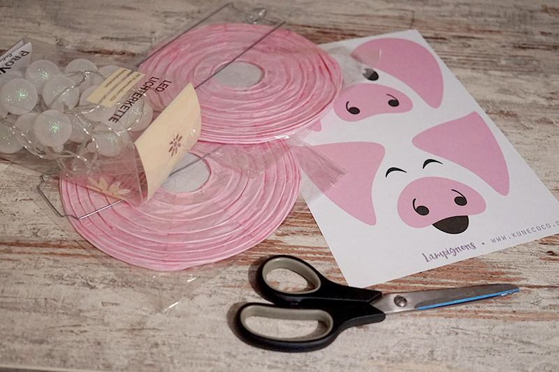 KuneCoco • DIY • LamPIGons • Material