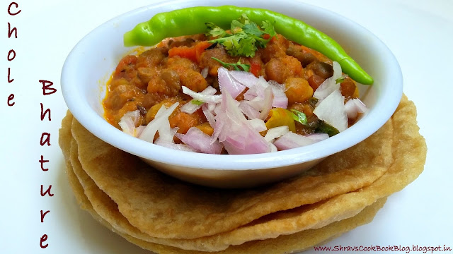 Chola Batura Recipe - Chana Batura