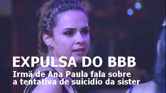 ANA PAULA BBB 16 SUICIDIO