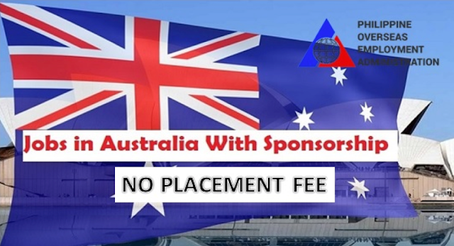 No Placement Fee: Updated 2019 In Demand Job Offers In Australia For Filipinos