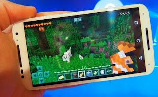 Minecraft Pocket Edition juga merupakan salah satu game paling banyak di gemari saat ini