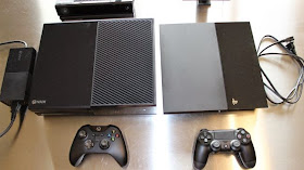 Sony Playstation 4 vs. Xbox one ps4 vs. Xbox one