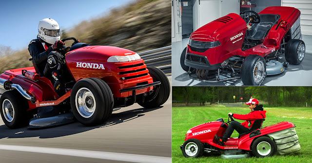 Χορτοκοπτικό της Honda θα έχει τελική ταχύτητα 240 χλμ/ώρα