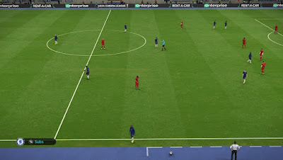 PES 2019 Pitch & 3D Turf by DZL