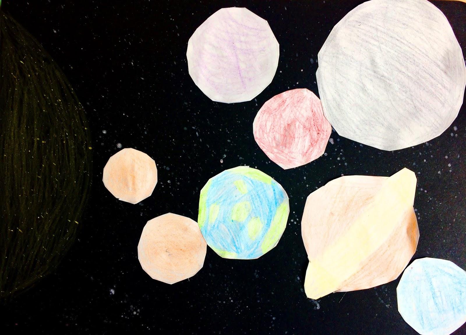 Sistemul Solar prin ochi de copil