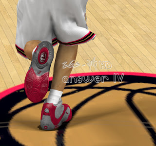 NBA 2K13 Reebok Answer IV Shoes Patch