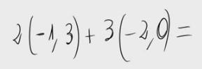 21.Combinación lineal de vectores