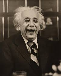 foto Albert Einstein di Princeton University luncheon