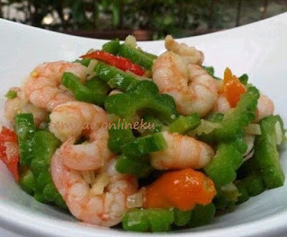 resep tumis pare & udang