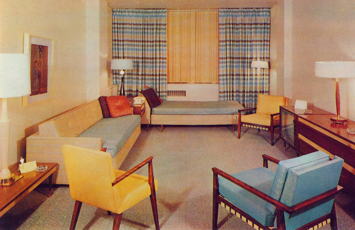 Mid-Century Living Rooms