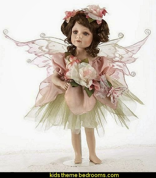 April Porcelain Fairy Doll
