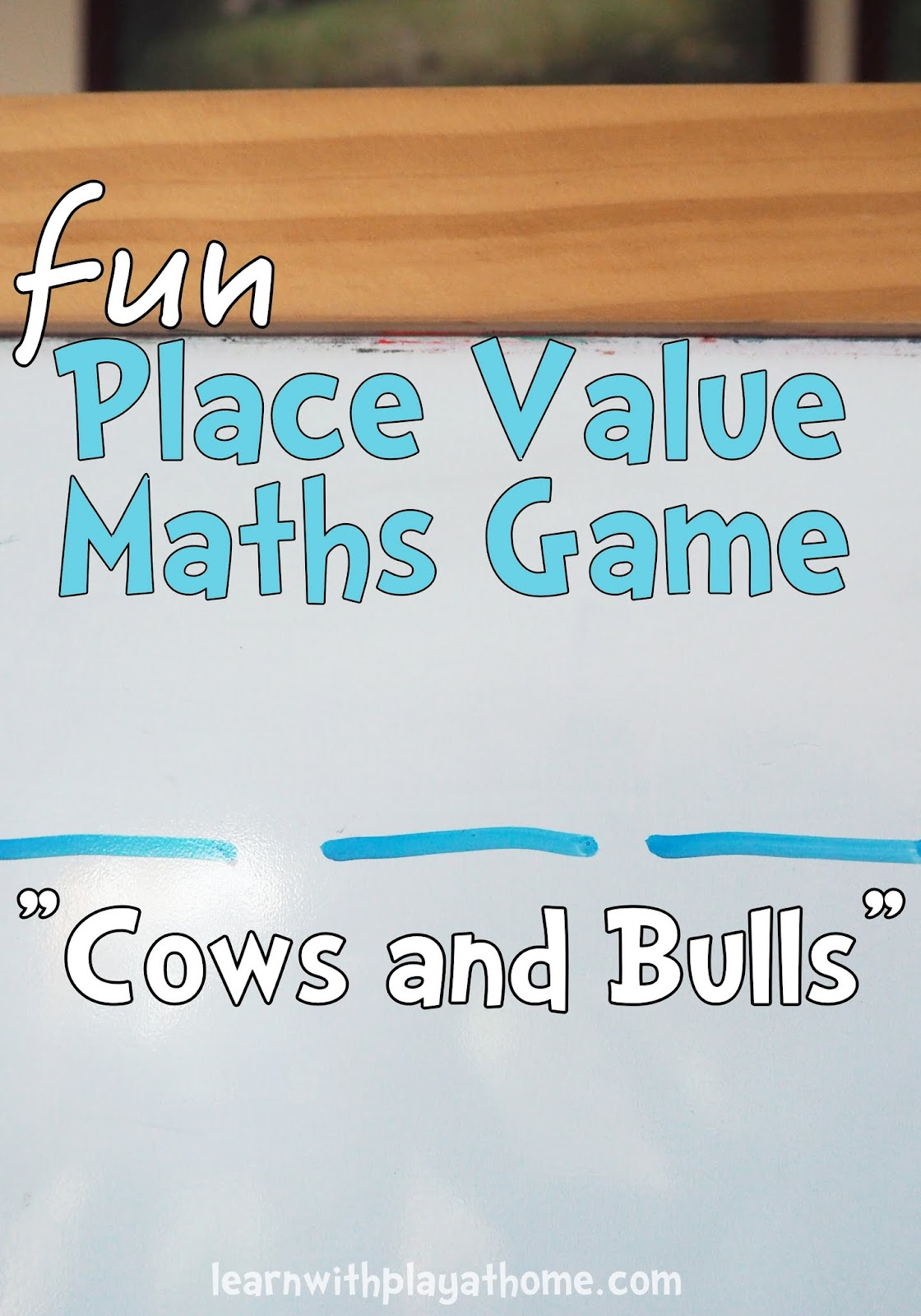 Learn With Play At Home Place Value Maths Game Cows And