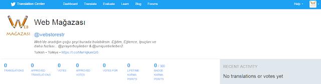Twitter çeviri merkezi, Çevirmen, Twitter çevirmenlik