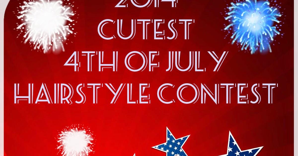 Caramel Curlz Amp Swirls 2014 Cutest 4th Of July Hairstyle