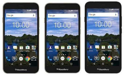 Smartphone  android blackberry aurora