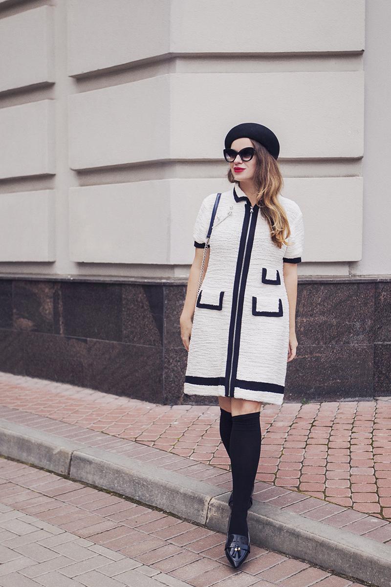 Sonia by Sonia Rykiel Zip Front Dress